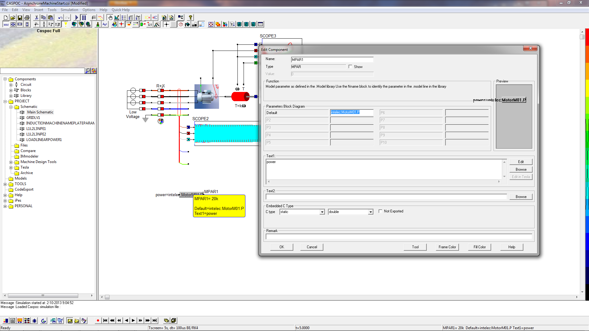 Caspoc Help Matlab To Software Tools Smps Circuits Projects Schematic Tagged With Brclick Close The Image